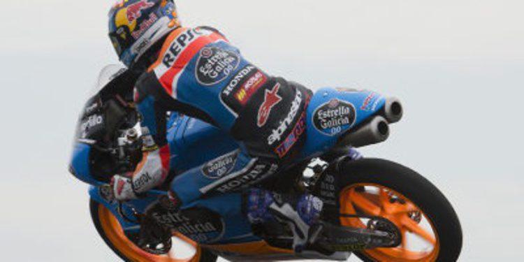 Alex Márquez rompe el ritmo de Moto3 en el FP2 de Brno