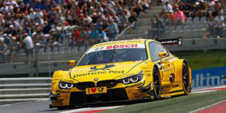 Timo Glock al frente de los FP1 en Nürburgring