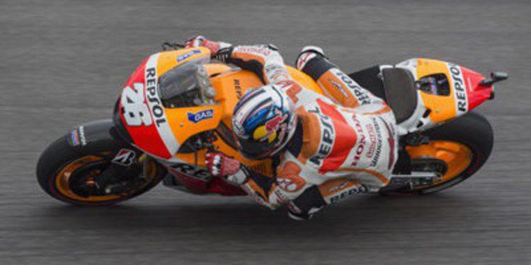 Dani Pedrosa se reivindica en el FP3 de MotoGP en Brno