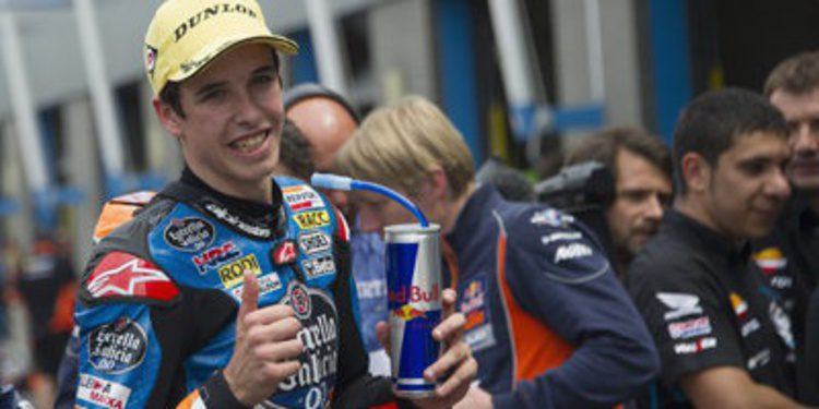Caótica pole de Moto3 para Alex Márquez en Brno