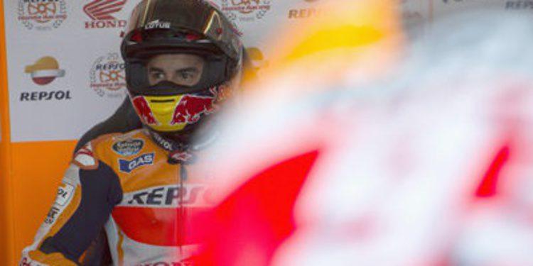 Pole para Marc Márquez en Brno con dos Ducati en primera fila
