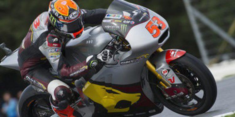 Rabat pole de Moto2 en Brno con pleno del 'Rufea Team'
