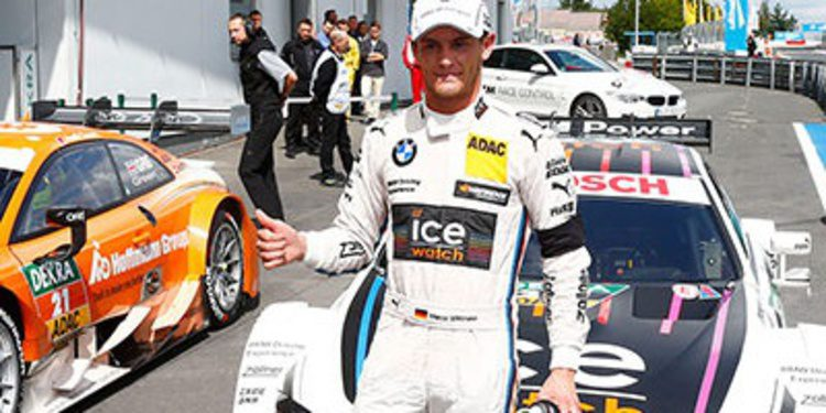 Marco Wittmann se lleva la pole del DTM en Nürburgring