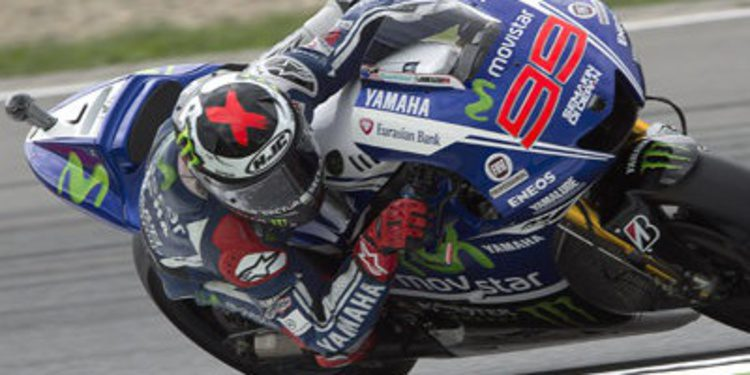 El warm up deja a Jorge Lorenzo al frente de MotoGP en Brno
