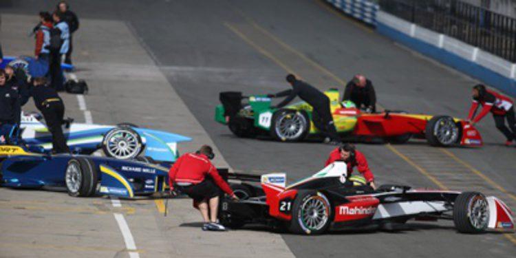La Formula E termina su pretemporada en Donington