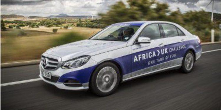 De África a Reino Unido con un tanque de gasolina