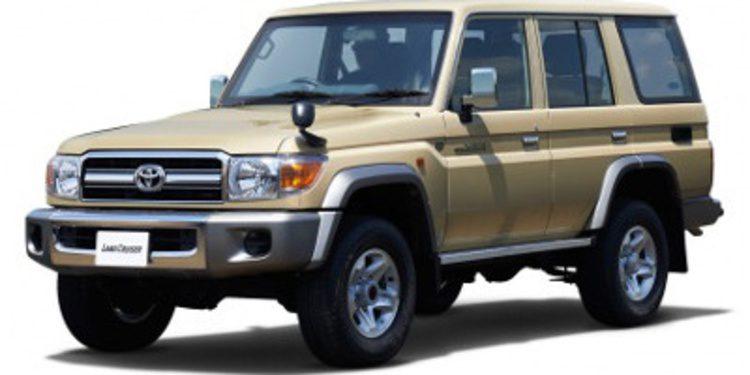 Toyota lanza de nuevo el Land Cruiser 70 en Japón
