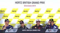 Rueda de prensa del GP de Gran Bretaña de MotoGP 2014