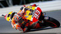 Marc Márquez la pauta en la FP1 de MotoGP en Silverstone