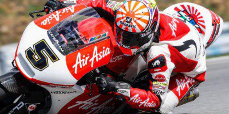 Johann Zarco, mejor tiempo en la FP1 de Moto2 en Silverstone