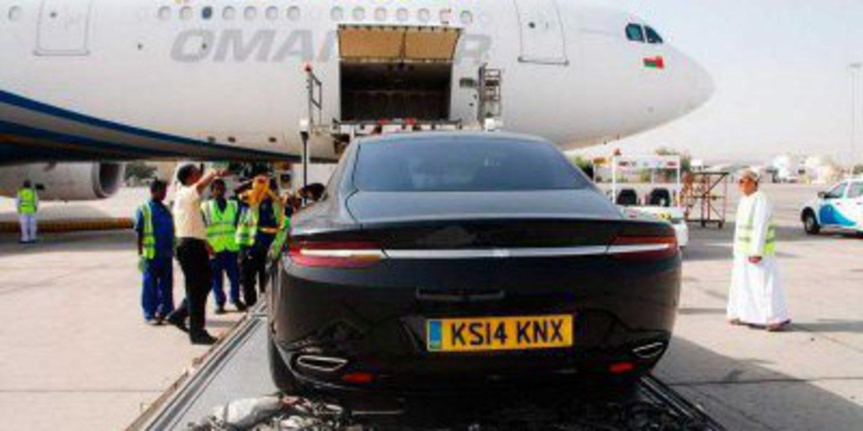 Oman Air desvela el nuevo Aston Martin Lagonda 2015