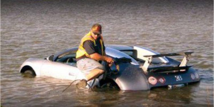 Posible pena de cárcel para el hombre que estrelló su Veyron