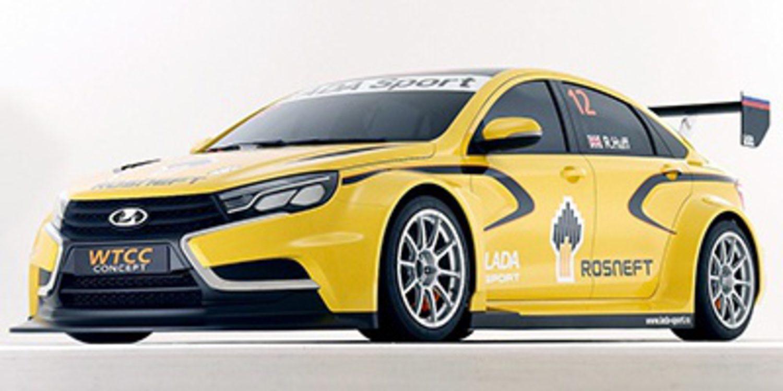 Lada presenta el nuevo vesta wtcc en mosc motor y racing for Lada 09 salon