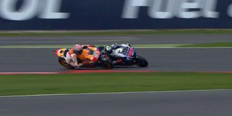 Marc Márquez le gana la batalla a Lorenzo en Silverstone
