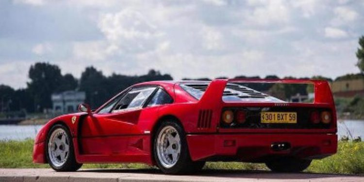 Bonhams subasta dos impresionantes Ferrari F40