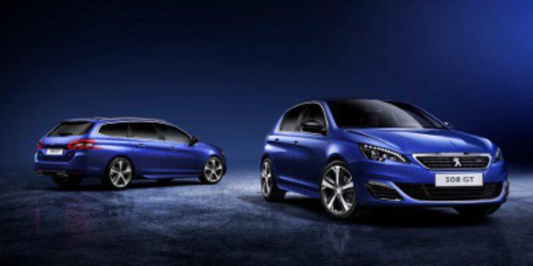 Peugeot presenta la versión GT, el 308 más deportivo
