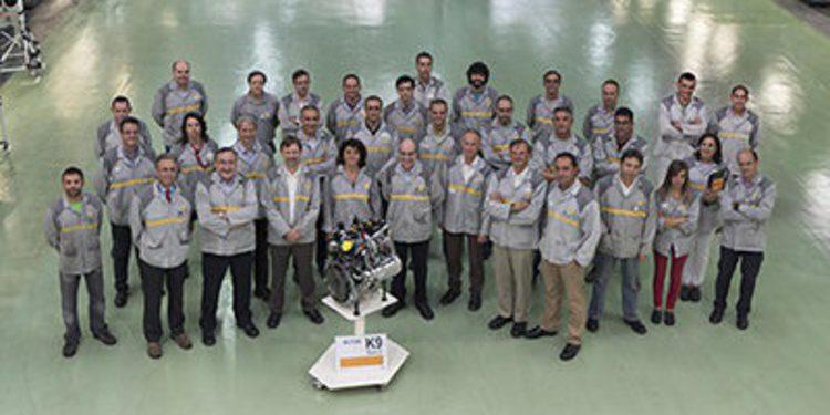 Renault produce ya el motor K9 Euro6 en Valladolid