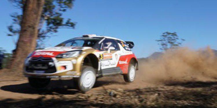 Kris Meeke el más rápido en el shakedown del Rally de Australia