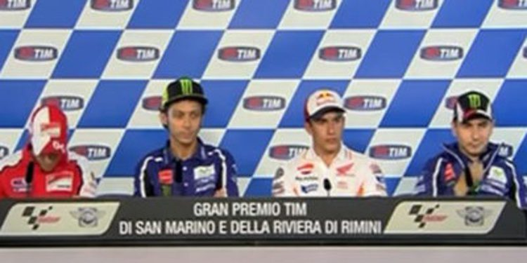 Rueda de prensa del GP de San Marino de MotoGP 2014