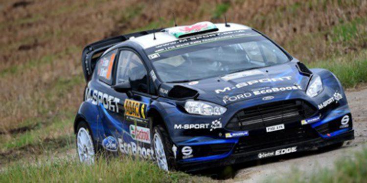 Elfyn Evans seguirá con M-Sport en el WRC 2015