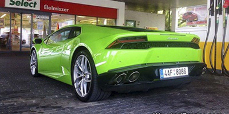 Aparatoso accidente de un Lamborghini Huracán