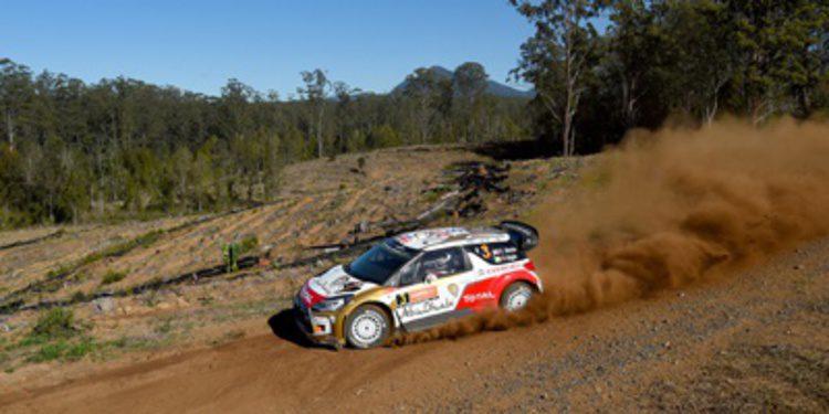 Inicio fulgurante de Kris Meeke en el Rally de Australia