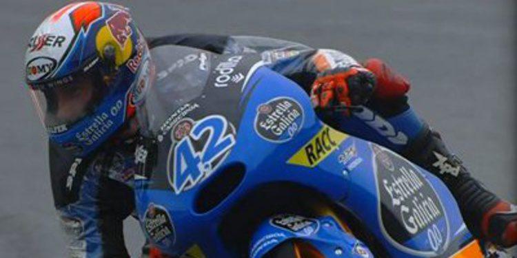 La lluvia en Misano no frena a Alex Rins durante el FP1