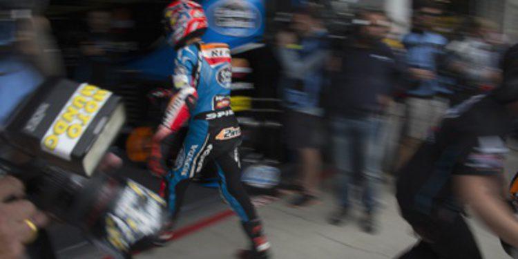 Alex Rins se anota el FP2 de Moto3 en Misano entre caídas