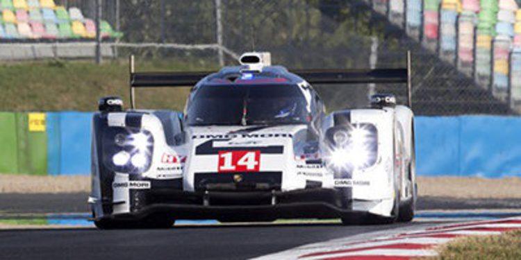 Último test de Porsche antes de llegar a Austin