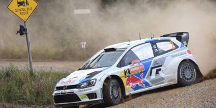 Jari-Matti Latvala toma el relevo en el Rally de Australia