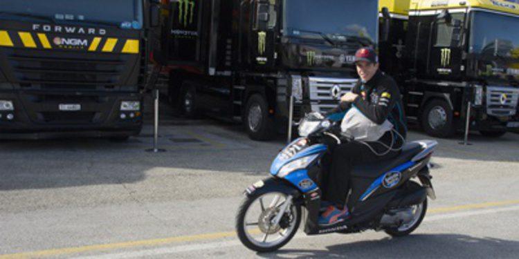 Alex Márquez lidera el FP3 de Moto3 con bandera roja