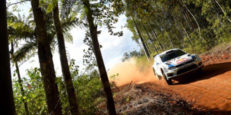 Sebastien Ogier recupera el liderato en el Rally de Australia