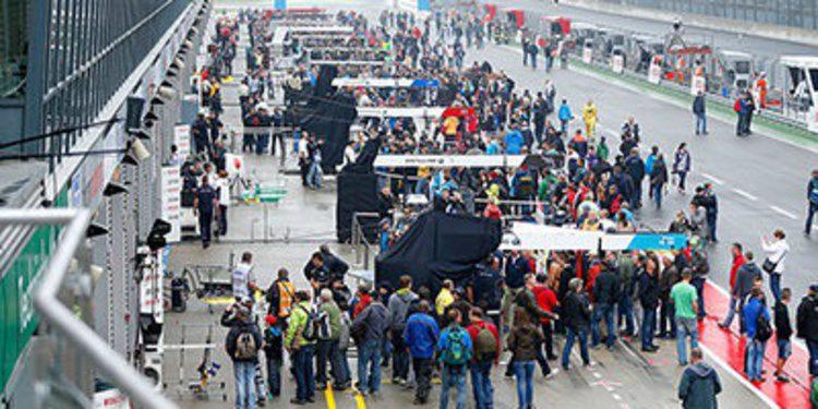Elección de neumáticos de los pilotos DTM en Lausitzring