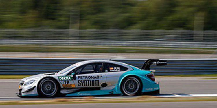 Gran clasificación de Molina y Juncadella en Lausitzring