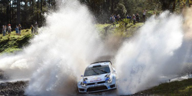 Sebastien Ogier hace valer su ley para ganar el Rally de Australia