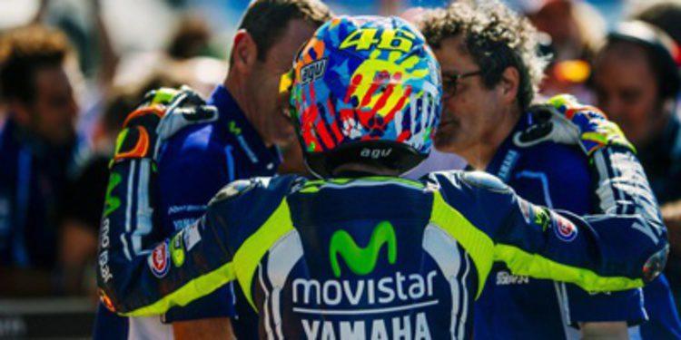 Valentino Rossi vence en Misano, hogar patrio y territorio Yamaha