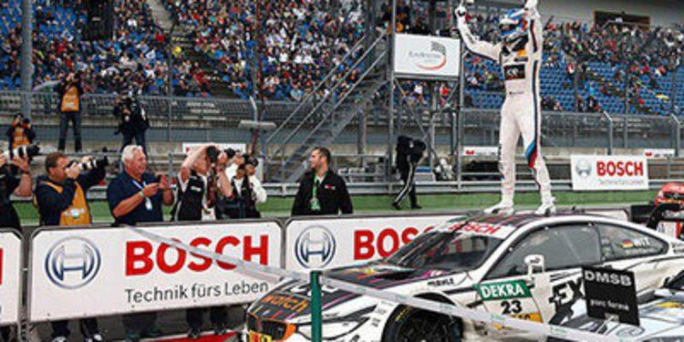Pascal Wehrlein gana en Lausitzring y Marco Wittmann es el campeón del DTM