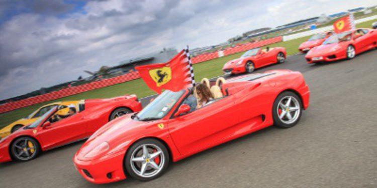 Espectacular concentración en los Ferrari Racing Days en Silverstone