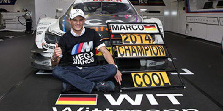 La brillante temporada de Marco Wittmann en el DTM