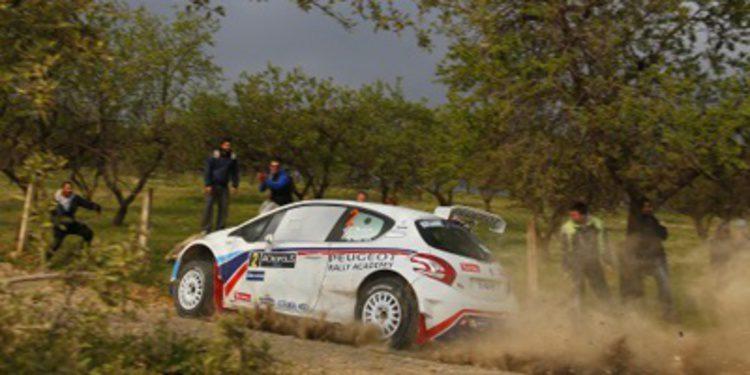 Lista de inscritos del Cyprus Rally del ERC 2014