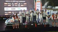 Histórico triplete en el Rally de Australia de Volkswagen