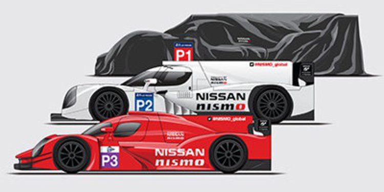 Nissan apuesta por LMP1, LMP2 y el nuevo LMP3