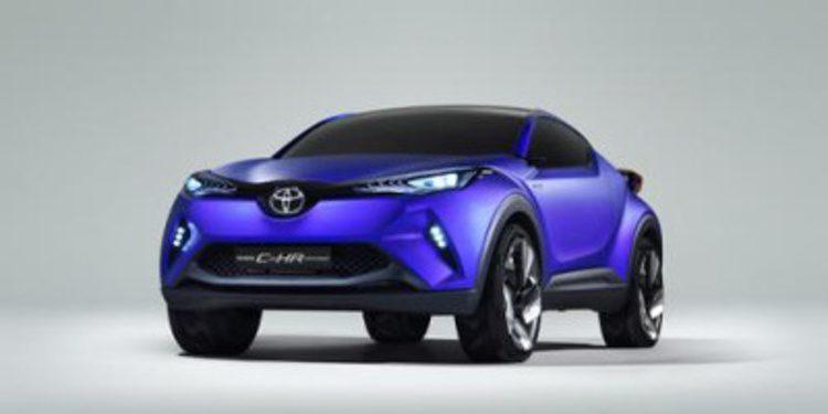 Filtradas las imágenes del Toyota C-HR concept