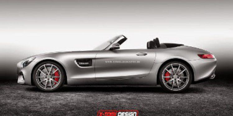 Primeros renders del Mercedes AMG GT cabrio