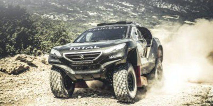 El Peugeot 2008 DKR está preparado para el Dakar 2015
