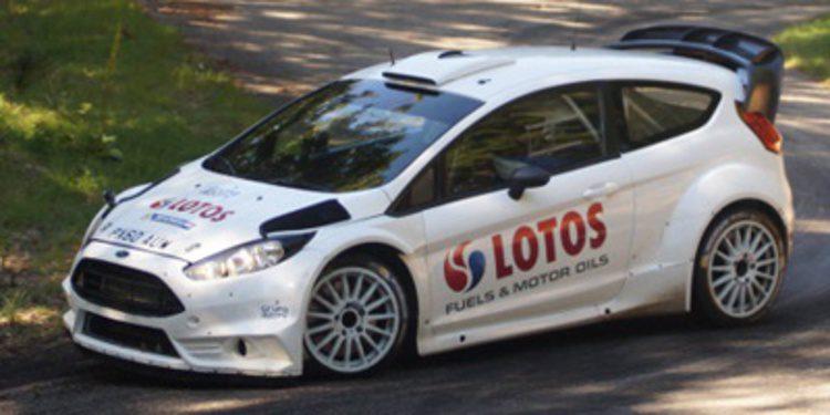 Test para el Rally de Francia de Volkswagen y M-Sport