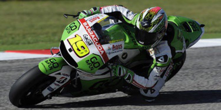 El equipo Gresini busca un doble top ten en MotorLand