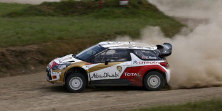 Kris Meeke y Markku Alén comparten un DS3 WRC