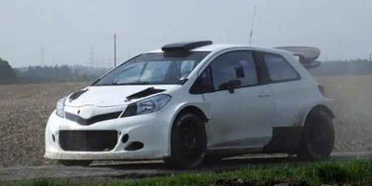 Nuevo test del Toyota Yaris WRC en Bélgica