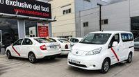 Nissan Leaf y e-NV200, nuevos taxis en Madrid